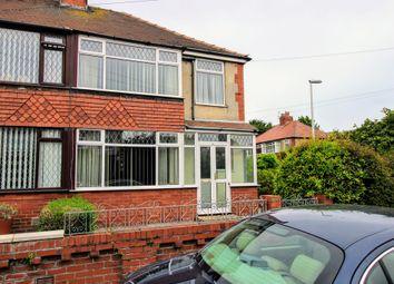 Thumbnail 3 bedroom semi-detached house for sale in Washington Avenue, Blackpool