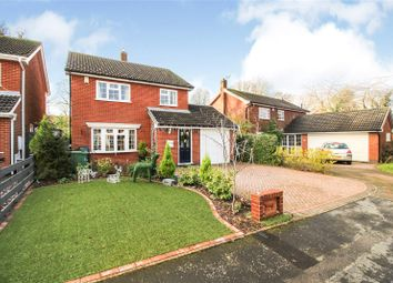 Thumbnail 3 bed detached house for sale in Farmers Close, Glenfield, Leicester, Leicestershire