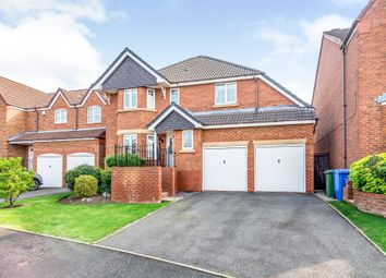 Thumbnail 5 bed detached house for sale in Peel Drive, Wilnecote, Tamworth