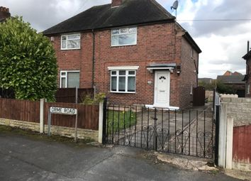 Thumbnail 2 bed semi-detached house for sale in Orme Road, Newcastle-Under-Lyme