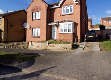 Thumbnail 3 bed semi-detached house for sale in Columbine Road, Hamilton, Leicester