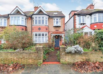 Thumbnail 4 bedroom semi-detached house for sale in Jesmond Road, Hove