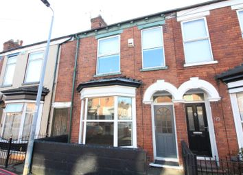 Thumbnail 2 bed terraced house for sale in Belvoir Street, Hull