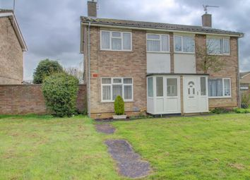 Thumbnail 2 bed semi-detached house for sale in Moulton Grove, Ravensthorpe, Peterborough