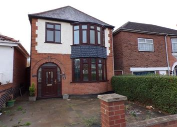 Thumbnail 3 bedroom detached house for sale in Crown Hills Avenue, Leicester