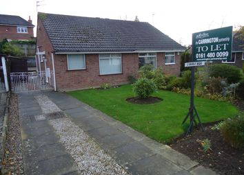 Thumbnail 2 bed detached bungalow to rent in Lorgill Close, Davenport, Stockport