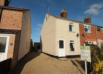 Thumbnail 3 bed end terrace house to rent in The Street, Gillingham, Beccles