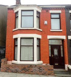 Thumbnail 4 bed terraced house for sale in Sunbury Road, Anfield, Liverpool