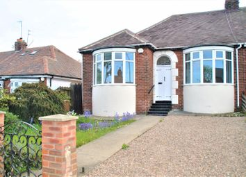 Thumbnail 2 bedroom semi-detached bungalow for sale in Barnes Park Road, Sunderland