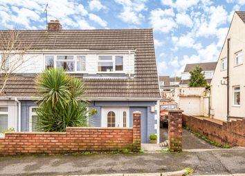 Thumbnail 4 bed semi-detached house for sale in Graham Avenue, Pen-Y-Fai, Bridgend