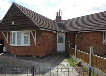 Thumbnail 1 bedroom semi-detached bungalow for sale in Brooksby Drive, Oadby, Leicester