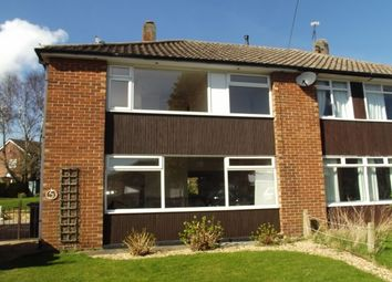 Thumbnail 3 bed semi-detached house to rent in Aldred Close, Wickersley, Rotherham