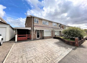 Thumbnail 3 bed semi-detached house for sale in Eagle Close, Caldicot