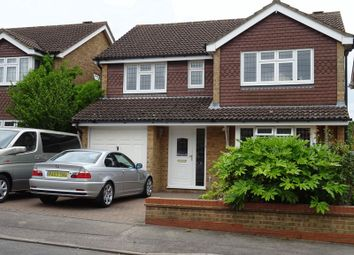 Thumbnail 4 bed detached house to rent in Hartlands Close, Bexley