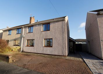 Thumbnail 3 bed semi-detached house for sale in Seaward Close, Sandfields