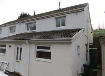 Thumbnail 3 bed semi-detached house for sale in Glen Garriff Cottages, Reservoir Road, Beaufort, Blaenau Gwent