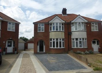 Thumbnail 3 bedroom semi-detached house to rent in St. Aubyns Road, Ipswich