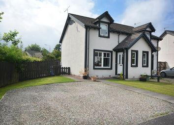 Thumbnail 2 bed end terrace house to rent in Vorlich Crescent, Callander