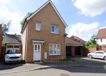 Thumbnail 3 bedroom detached house for sale in Jermyn Way, Tharston