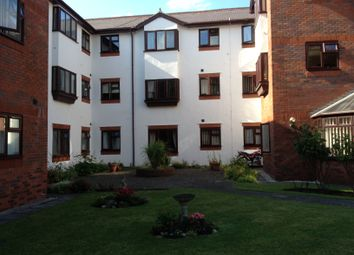 Thumbnail 1 bed flat to rent in Marlborough Court, Vicars Cross, Chester