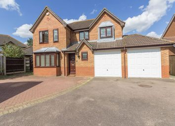 Thumbnail 4 bed detached house for sale in Deepdale, Carlton Colville, Lowestoft
