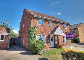 Thumbnail 3 bed semi-detached house for sale in Maple Drive, Norwich