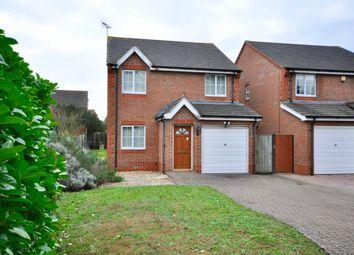 Thumbnail 3 bed detached house for sale in Arne Close, Reading Road, Winnersh, Wokingham