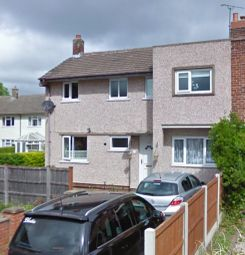 Thumbnail 3 bed semi-detached house to rent in Ceiriog Road, Wrexham