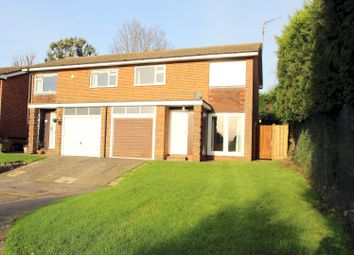 Thumbnail 3 bed semi-detached house to rent in Castle Close, Bletchingley, Redhill