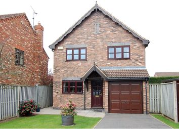 Thumbnail 3 bedroom detached house for sale in Flawborough Rise, West Bridgford