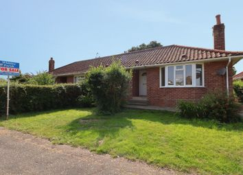 Thumbnail 2 bed semi-detached bungalow for sale in Francis Road, Long Stratton, Norwich