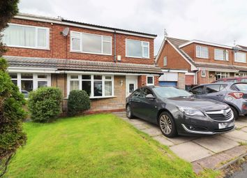 Thumbnail 3 bed semi-detached house for sale in Standfield Drive, Boothstown, Manchester
