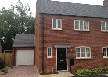 Thumbnail 3 bed semi-detached house to rent in Greyhound Croft, Hinckley