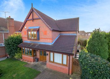 Thumbnail 3 bedroom detached house for sale in Quantock Court, Sleaford, Lincolnshire