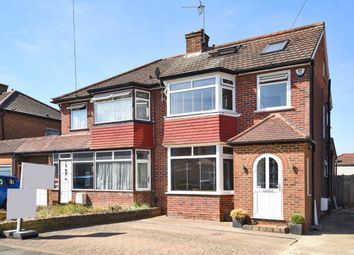 Thumbnail 4 bed semi-detached house for sale in Anmersh Grove, Stanmore