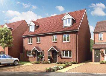 "Thumbnail 4 bed semi-detached house for sale in ""The Leicester"" at Hatfield Road, St Albans"