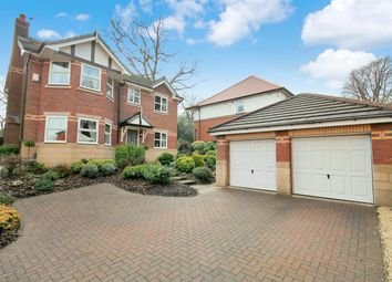 Thumbnail 4 bed detached house for sale in Wardley Grove, Heaton, Bolton