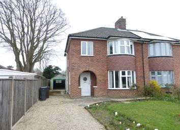 Thumbnail 3 bed semi-detached house for sale in Constitution Hill, Norwich