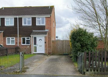 Thumbnail 3 bed semi-detached house for sale in Hadrian Road, Andover