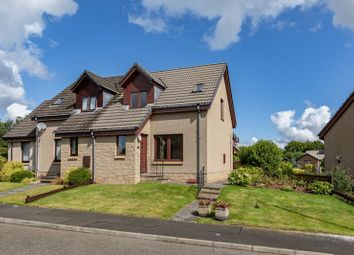 Thumbnail 2 bed semi-detached house for sale in 15 Monksford Court, Newtown St. Boswells, Melrose