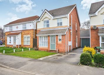 Thumbnail 3 bed detached house for sale in Felton Avenue, Mansfield Woodhouse, Mansfield