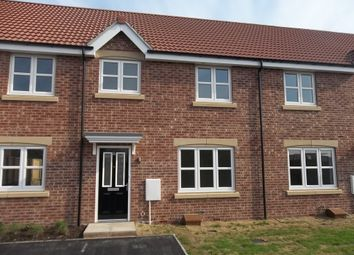 Thumbnail 3 bed terraced house to rent in Brewster Road, Gainsborough