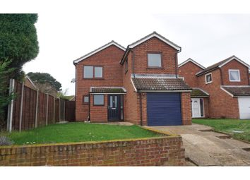 Thumbnail 4 bed detached house for sale in Grove Road, Brantham, Manningtree
