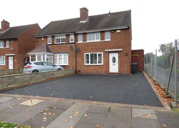 Thumbnail 2 bed semi-detached house for sale in Brownfield Road, Shard End, Birmingham