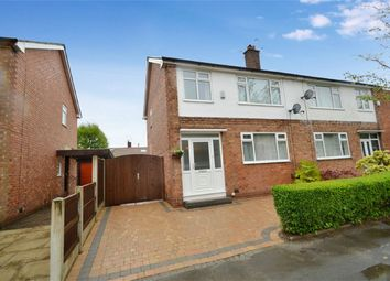 Thumbnail 3 bed semi-detached house for sale in Linden Grove, Woodsmoor, Stockport, Cheshire