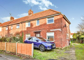 Thumbnail 3 bed end terrace house for sale in George Borrow Road, Norwich