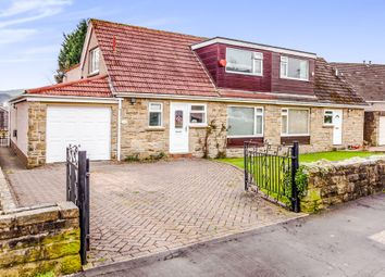 Thumbnail 3 bed semi-detached house for sale in Kershaw Drive, Luddendenfoot, Halifax