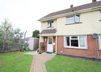 Thumbnail 3 bed semi-detached house for sale in Gray Crescent, Plymouth