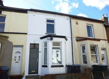 Thumbnail 2 bed terraced house to rent in Oswald Road, Dover