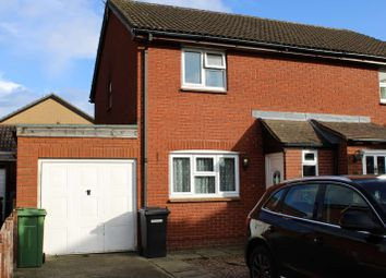 Thumbnail 3 bed semi-detached house for sale in Rudland Close, Thatcham